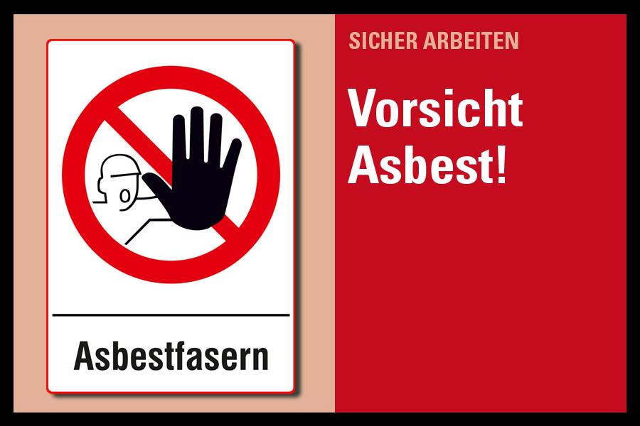 Vorischt Asbest